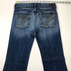 7 for all Mankind Jeans - 7 for all mankind dojo flare jeans 27x31